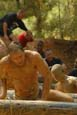 over the log and through the mud, to the finish line we go | Mud Run | Warrior Run